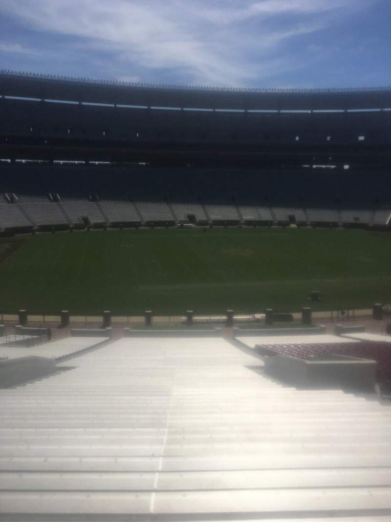 Bryant-Denny Stadium, section: J, row: 58, seat: 01