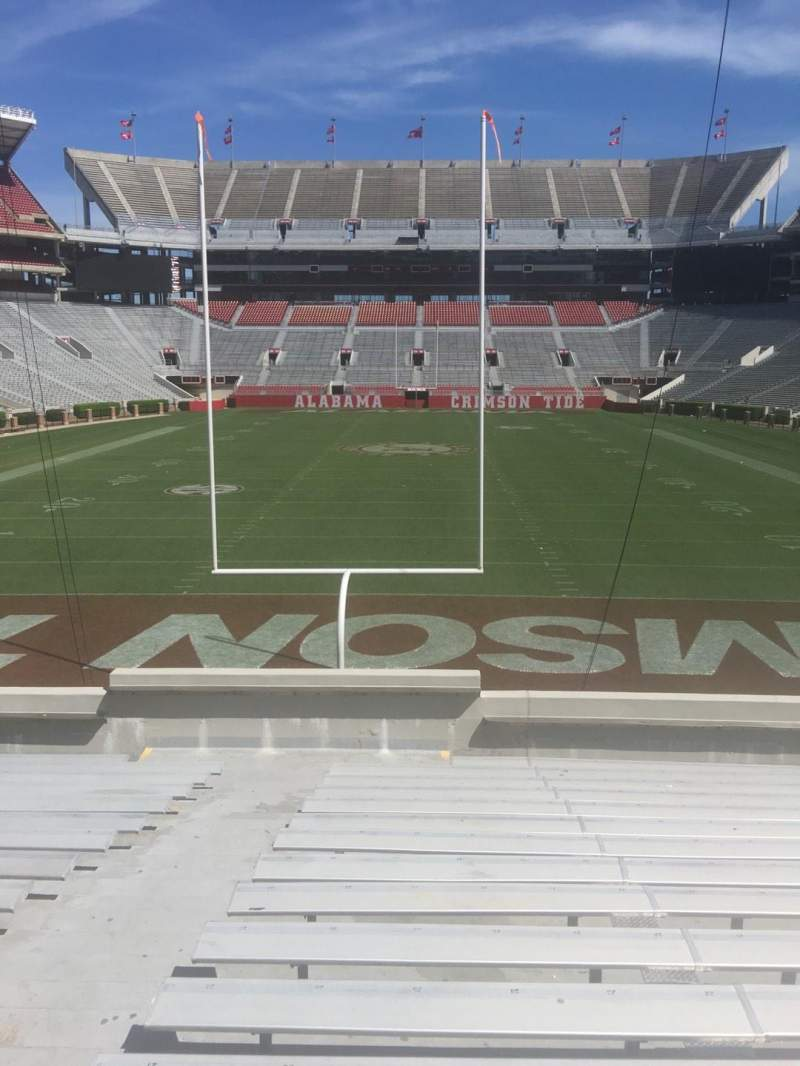 Seating view for Bryant-Denny Stadium Section S-4 Row 25 Seat 25
