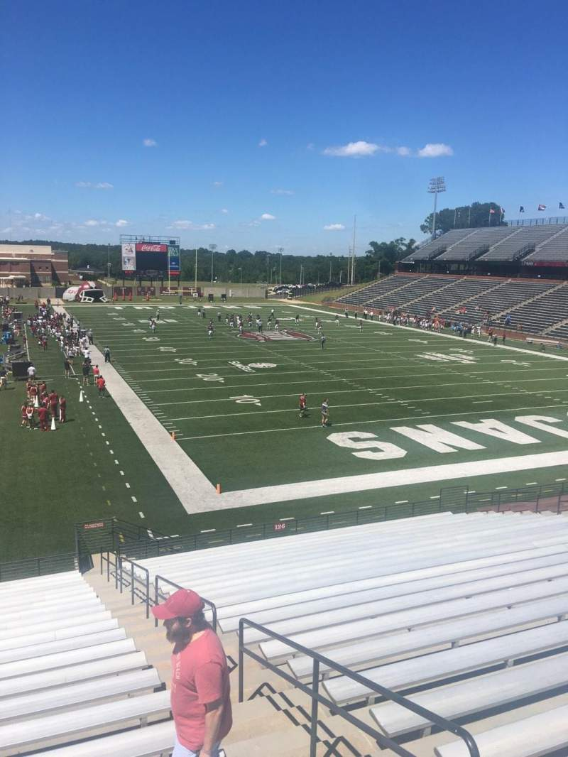 Seating view for Veterans Memorial Stadium Section 124 Row 15 Seat 25