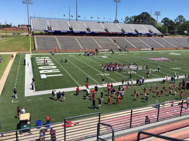 Veterans Memorial Stadium, section: 201, row: 5, seat: 1