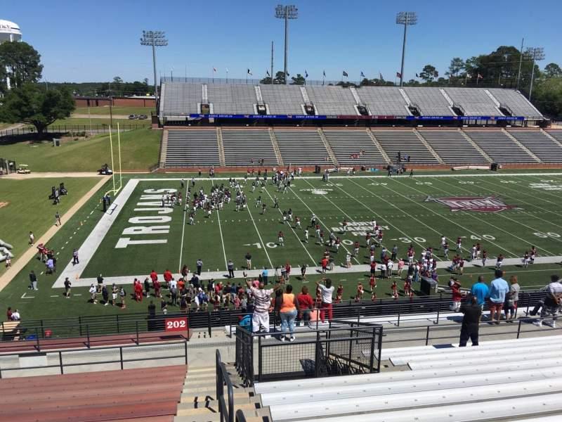 Veterans Memorial Stadium, section: 202, row: 20, seat: 1