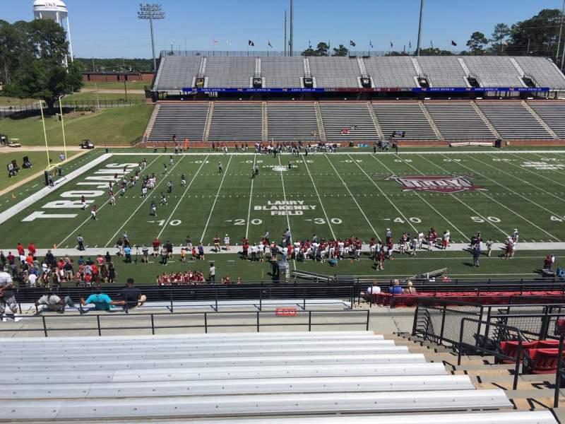 Veterans Memorial Stadium, section: 206, row: 20, seat: 1
