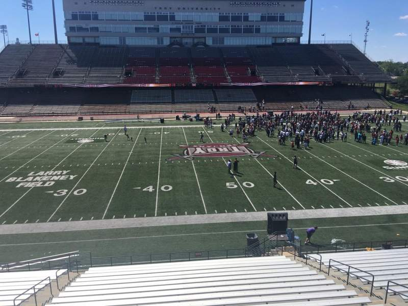 Veterans Memorial Stadium, section: 209, row: 1, seat: 25