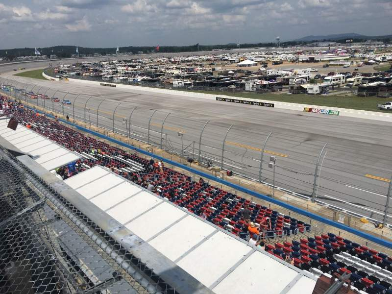 Seating view for Talladega Superspeedway Section North Deck