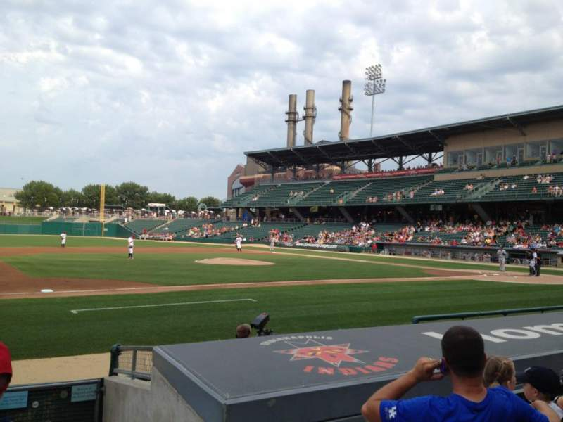 Seating view for Victory Field Section 107