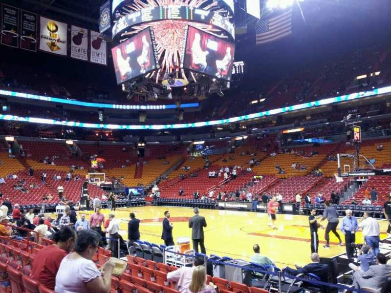 american airlines arena section  home  miami heat