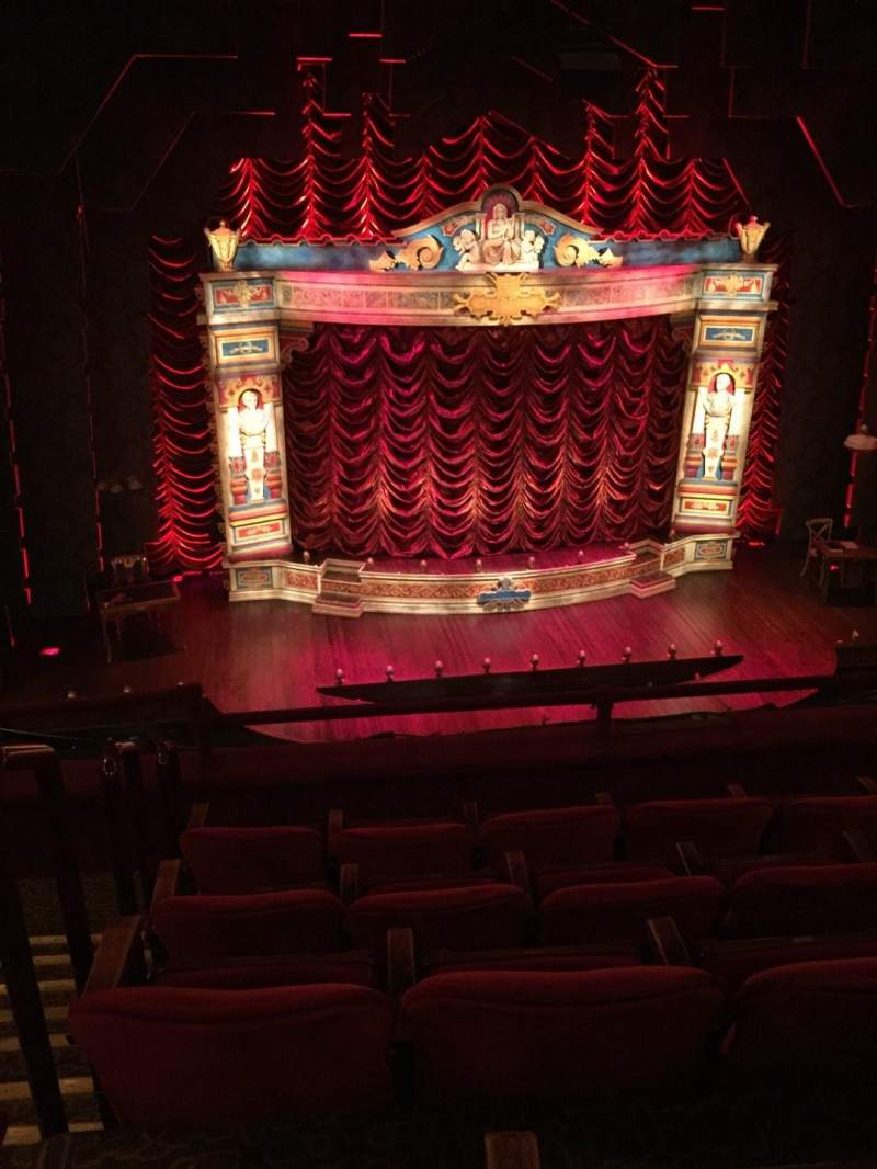 Seating view for Walter Kerr Theatre Section Mezz Row E Seat 114
