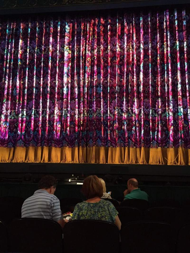 Seating view for Lunt-Fontanne theatre Section Orch Row F Seat 110