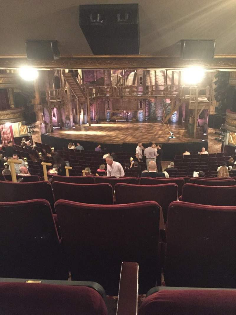 Seating view for Richard Rodgers Theatre Section Orch Row V Seat 8