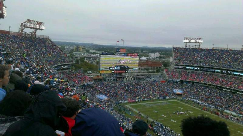 Seating view for Nissan Stadium Section 330 Row CC Seat 6