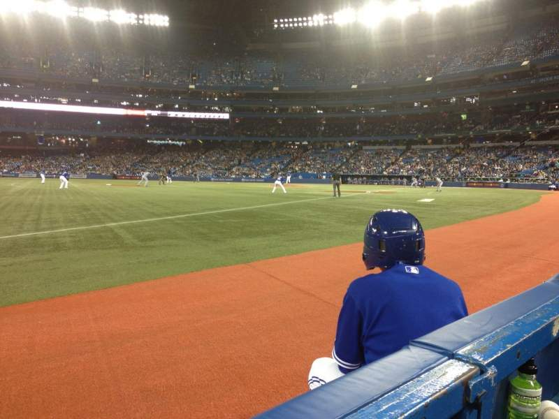 Seating view for Rogers Centre Section 130BL Row 1 Seat 103