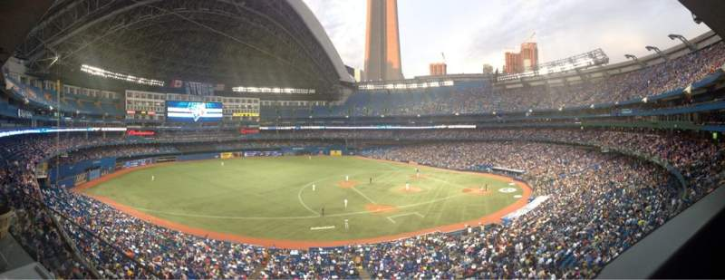 Seating view for Rogers Centre Section Suite 347 Row 1 Seat 1