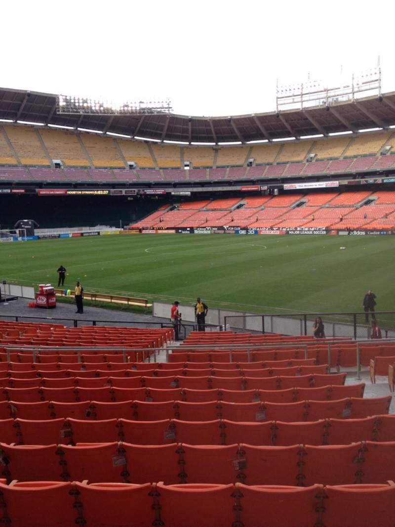 Seating view for RFK Stadium Section 202 Row 12 Seat 5