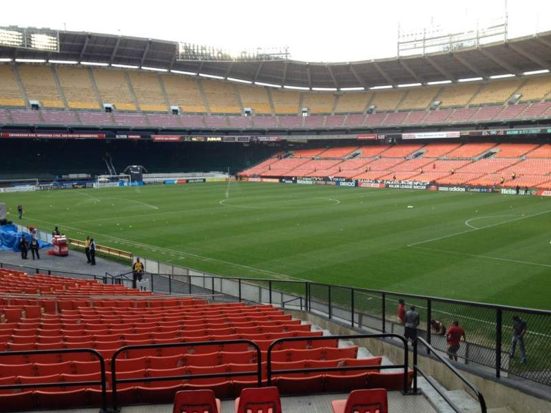 Seating view for RFK Stadium Section 301 Row 3 Seat 5