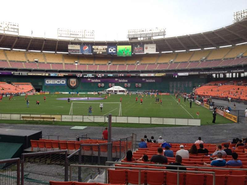 Seating view for RFK Stadium Section 217 Row 7 Seat 10