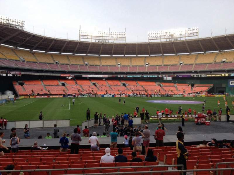 Seating view for RFK Stadium Section 210 Row 6 Seat 6