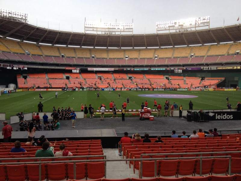 Seating view for RFK Stadium Section 209 Row 6 Seat 7