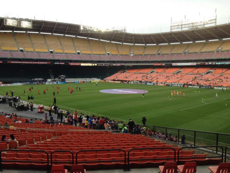 Seating view for RFK Stadium Section 301 Row 5 Seat 10