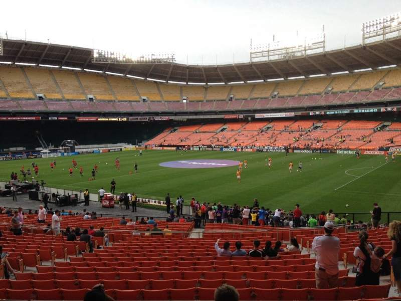 Seating view for RFK Stadium Section 302 Row 5 Seat 12