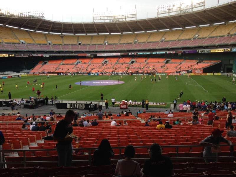 Seating view for RFK Stadium Section 304 Row 7 Seat 12