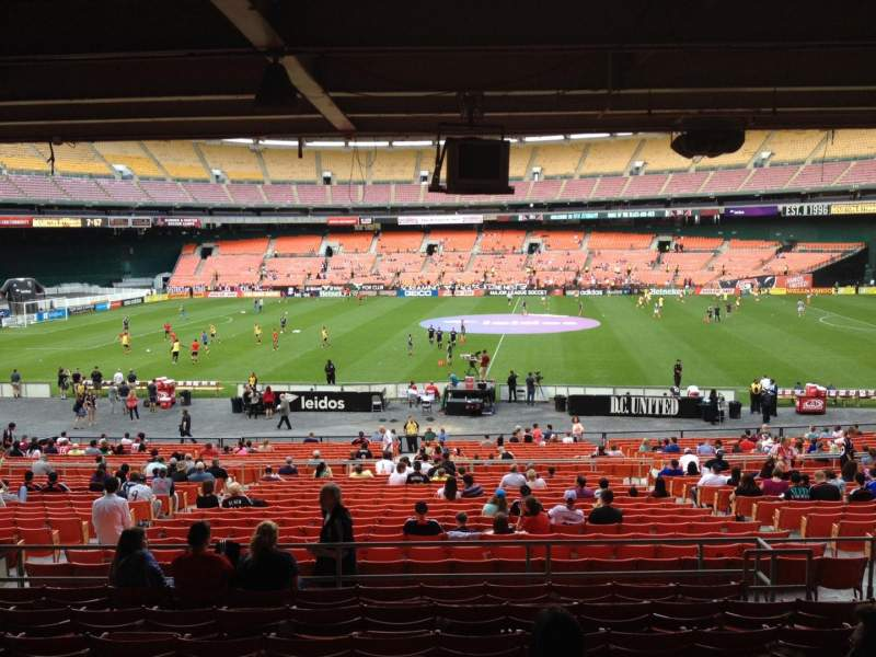 Seating view for RFK Stadium Section 306 Row 11 Seat 7