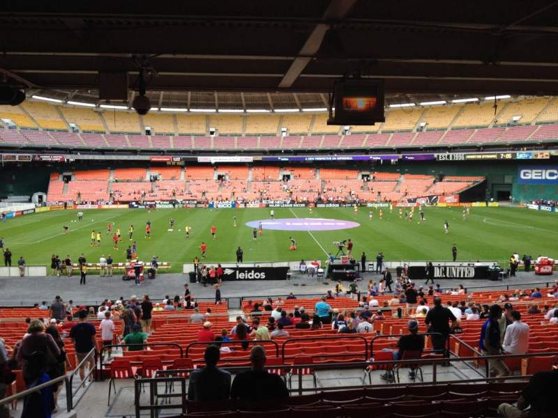Seating view for RFK Stadium Section 307 Row 9 Seat 10