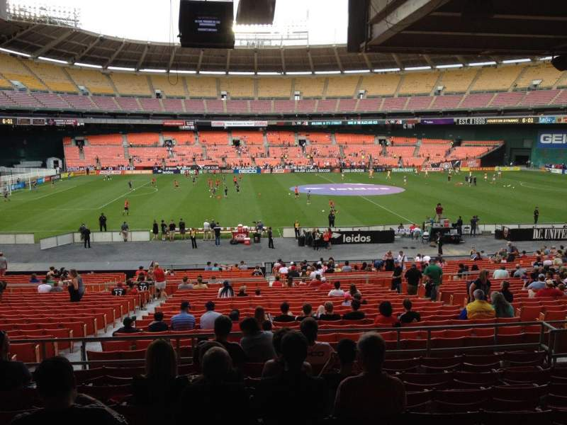 Seating view for RFK Stadium Section 308 Row 9 Seat 9