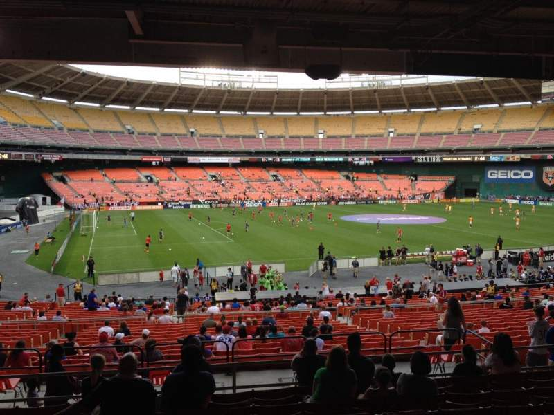 Seating view for RFK Stadium Section 311 Row 9 Seat 12