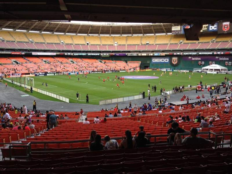 Seating view for RFK Stadium Section 313 Row 9 Seat 11