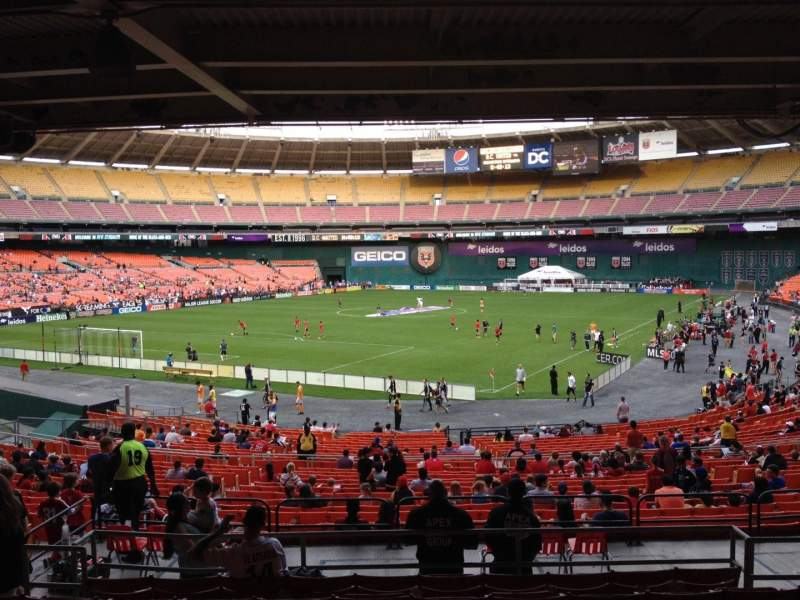 Seating view for RFK Stadium Section 316 Row 9 Seat 8