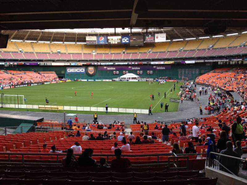 Seating view for RFK Stadium Section 317 Row 9 Seat 12