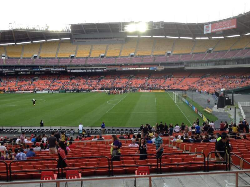 Seating view for RFK Stadium Section 329 Row 6 Seat 9