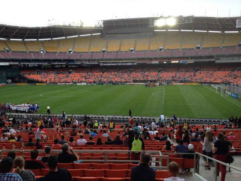 Seating view for RFK Stadium Section 330 Row 9 Seat 9