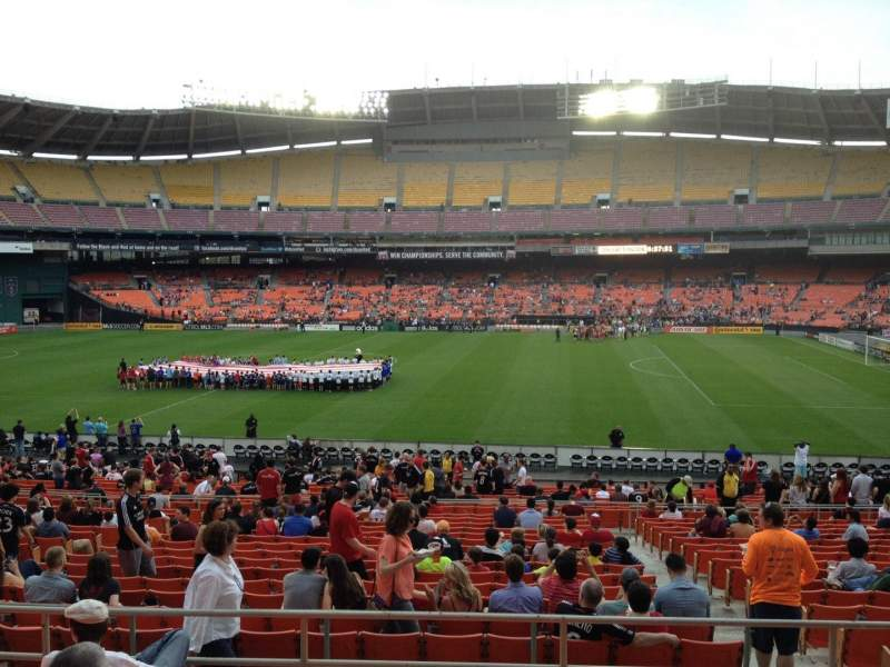 Seating view for RFK Stadium Section 331 Row 7 Seat 8