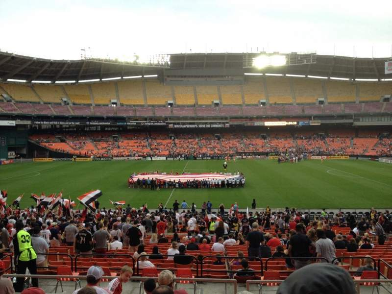 Seating view for RFK Stadium Section 333 Row 8 Seat 8
