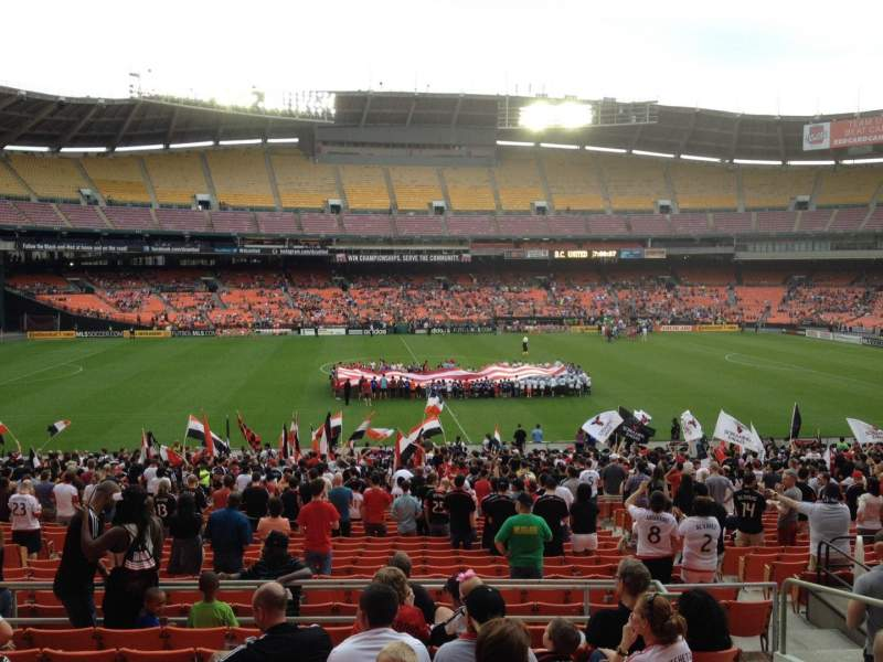 Seating view for RFK Stadium Section 334 Row 9 Seat 11