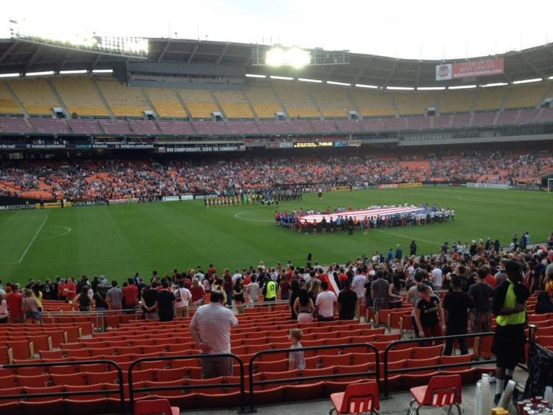 Seating view for RFK Stadium Section 336 Row 4 Seat 11
