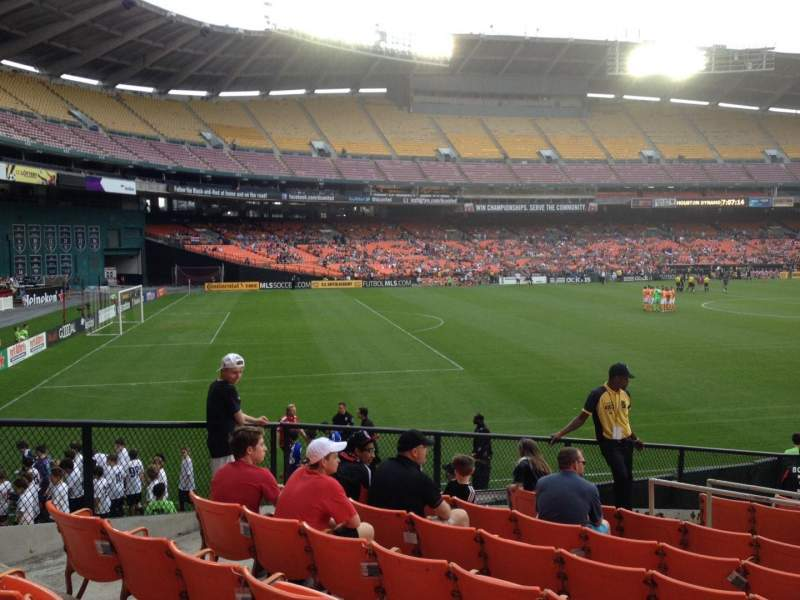 Seating view for RFK Stadium Section 237 Row 8 Seat 8