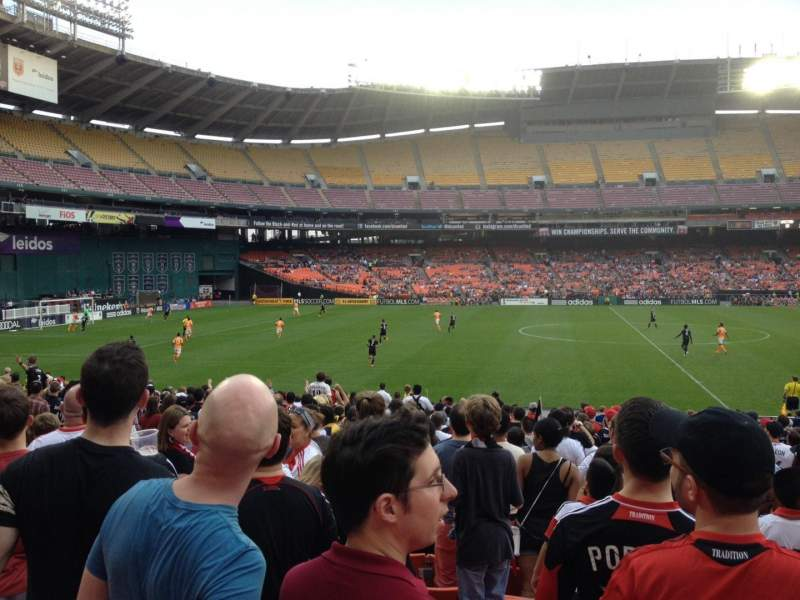Rfk Stadium Section 234 Row 9 Seat 10 Dc United Shared By Drobeck