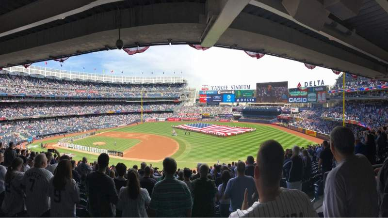 Seating view for Yankee Stadium Section 214a Row 20 Seat 5