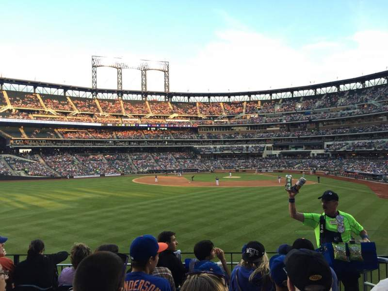 Seating view for Citi Field Section 136 Row 5 Seat 3