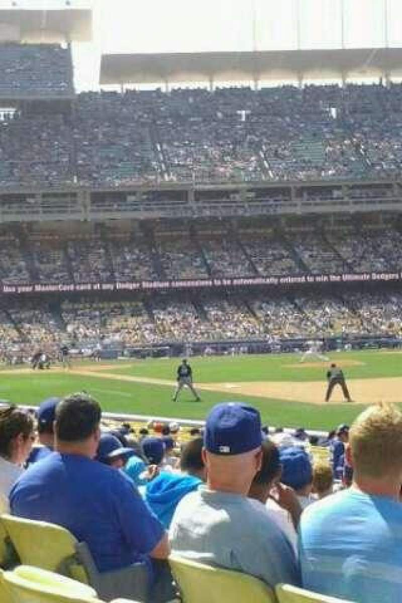 Seating view for Dodger Stadium Section 40FD Row M Seat 7