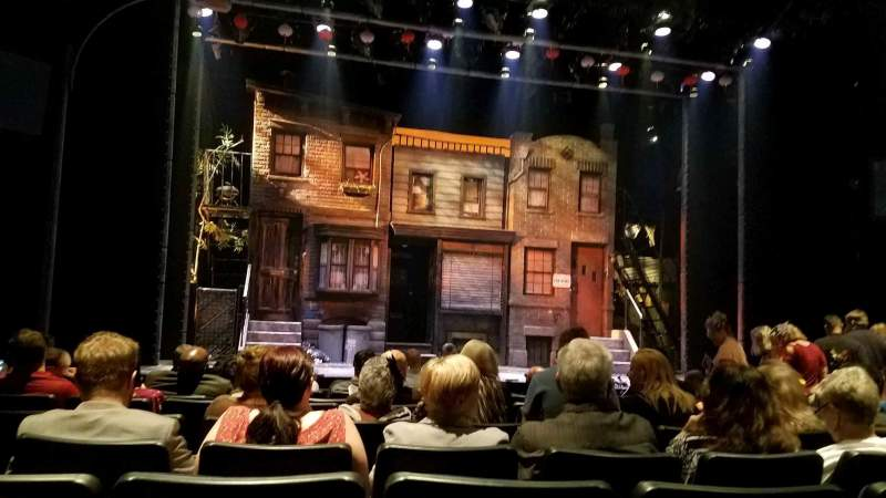 Seating view for New World Stages - Stage 3 Section Orchestra Row J Seat 102