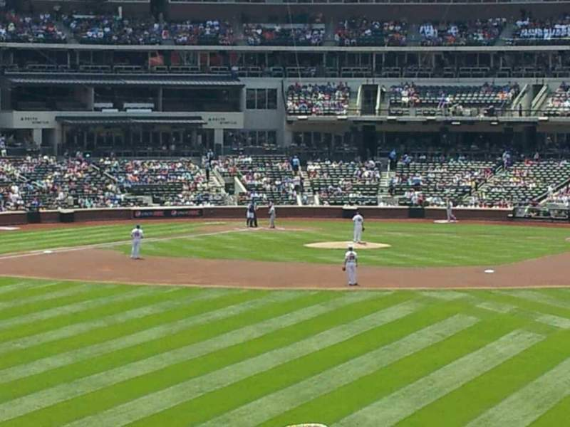 Seating view for Citi Field Section 143 Row 2 Seat 7