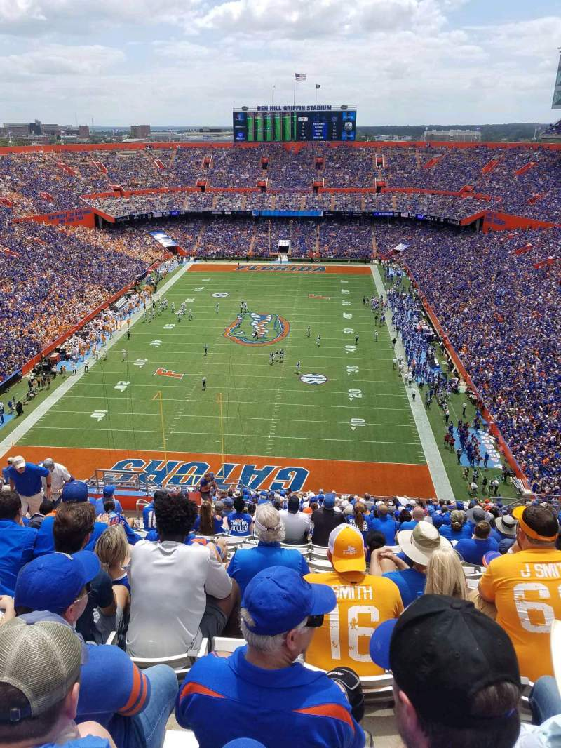 Seating view for Ben Hill Griffin Stadium Section 323 Row 28 Seat 28