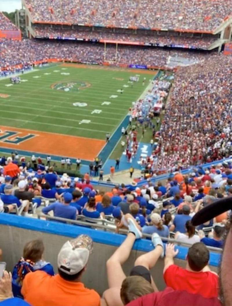 Seating view for Ben Hill Griffin Stadium Section 53 Row 62 Seat 35
