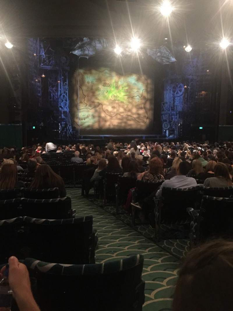 Apollo Victoria Theatre, section: Stalls, row: Zb, seat: 38/39