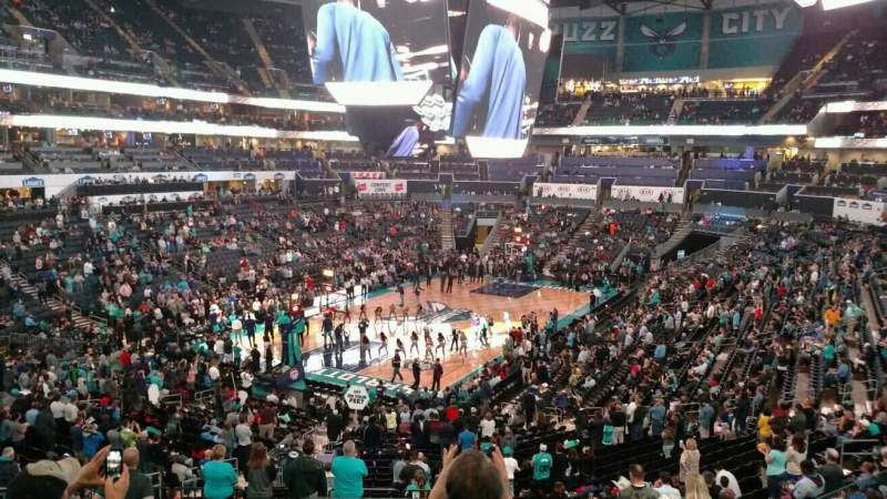 Seating view for Spectrum Center Section 116 Row DD Seat 38