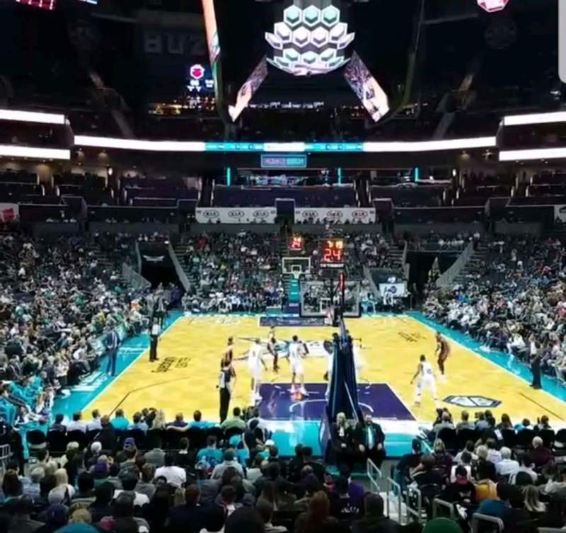 Seating view for Spectrum Center Section 101 Row P Seat 3