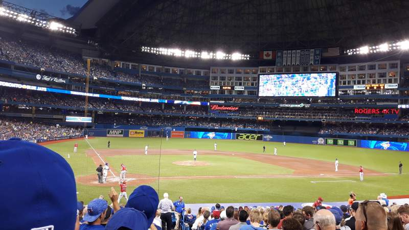 Seating view for Rogers Centre Section 119L Row 27 Seat 101